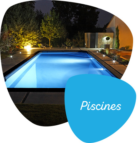 Menu triangle piscines